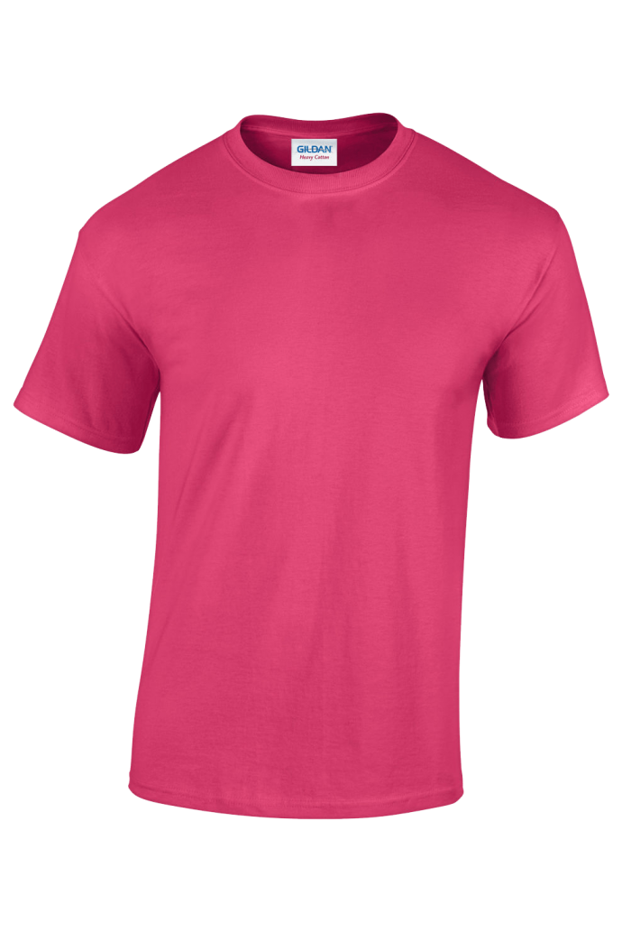 dark pink plain t-shirt