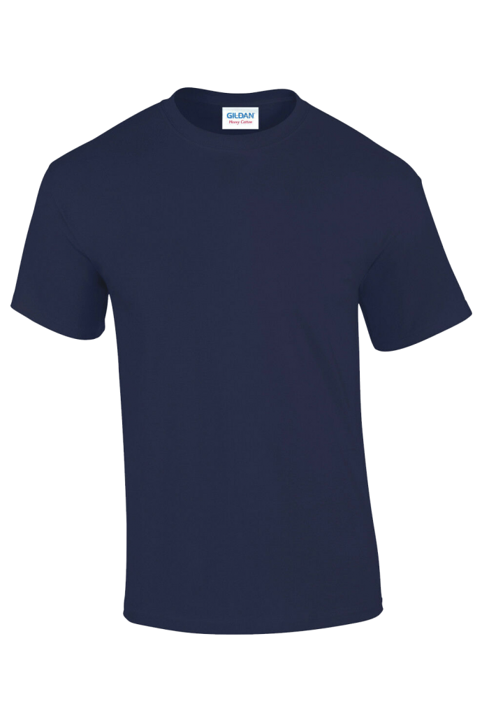 navy blue workwear t-shirt