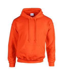 design your own orange hoodie