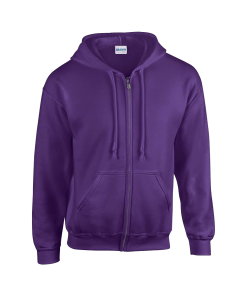 purple customised hoodie