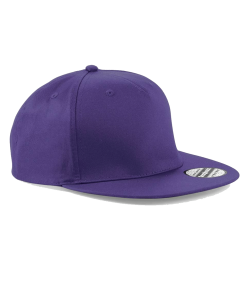 purple sanpback hat