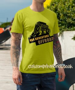 yellow 4x4 t-shirt adventure off road