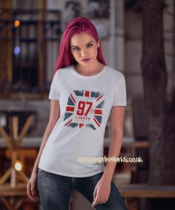 Great Britian London T-Shirt in white