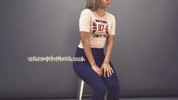 Great Britian t-shirt with Manchester text to print