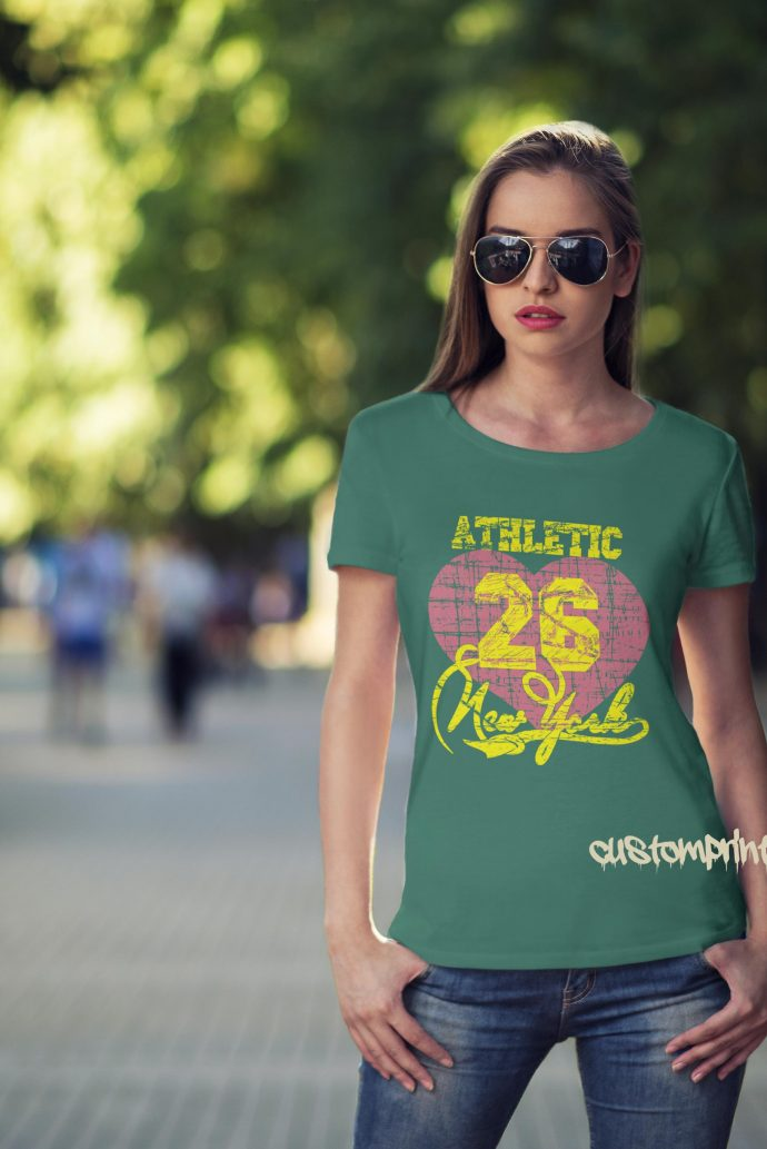 New York Athletic t-shirt in green