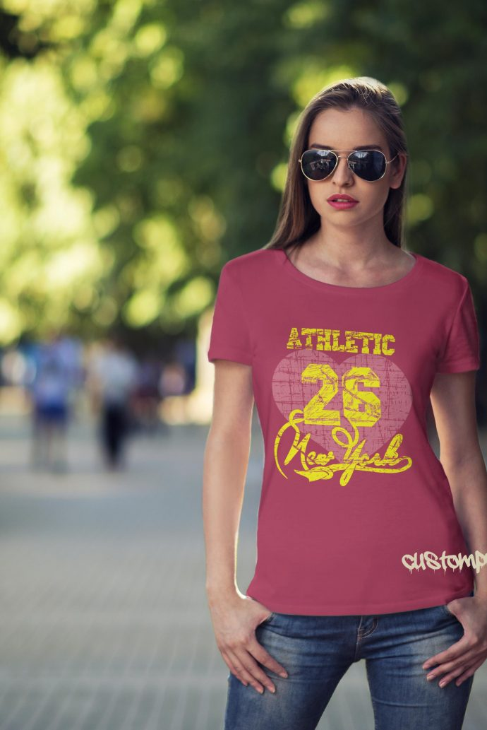 New York Athletic t-shirt in pink