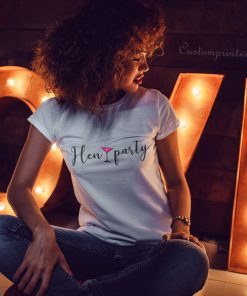 hen party cocktail t-shirt